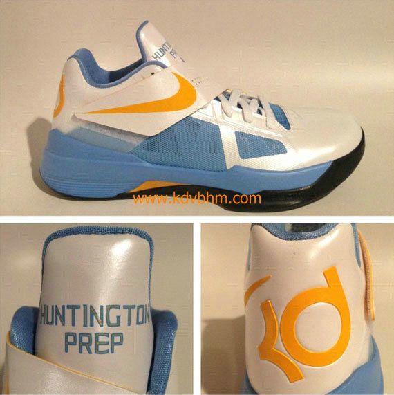 Cheap Sale Nike Kevin Durant 2012 Navy Orange