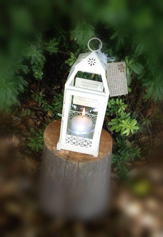 Cooma Pet Shop - Memorial Lantern, $59.90 (http://www.coomapetshop.com.au/pet-memorial-lantern-with-personalised-plaque/Pet-Memorials)