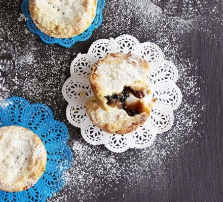Deep filled mince pies - For a real treat this Christmas, try Sara's generously filled mince pies with a cup of tea