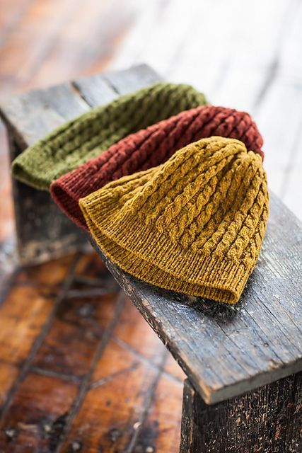 cable knit hats