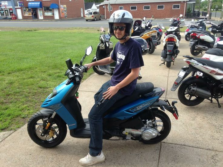 look for zach riding around berlin on his 2014 piaggio typhoon 50
