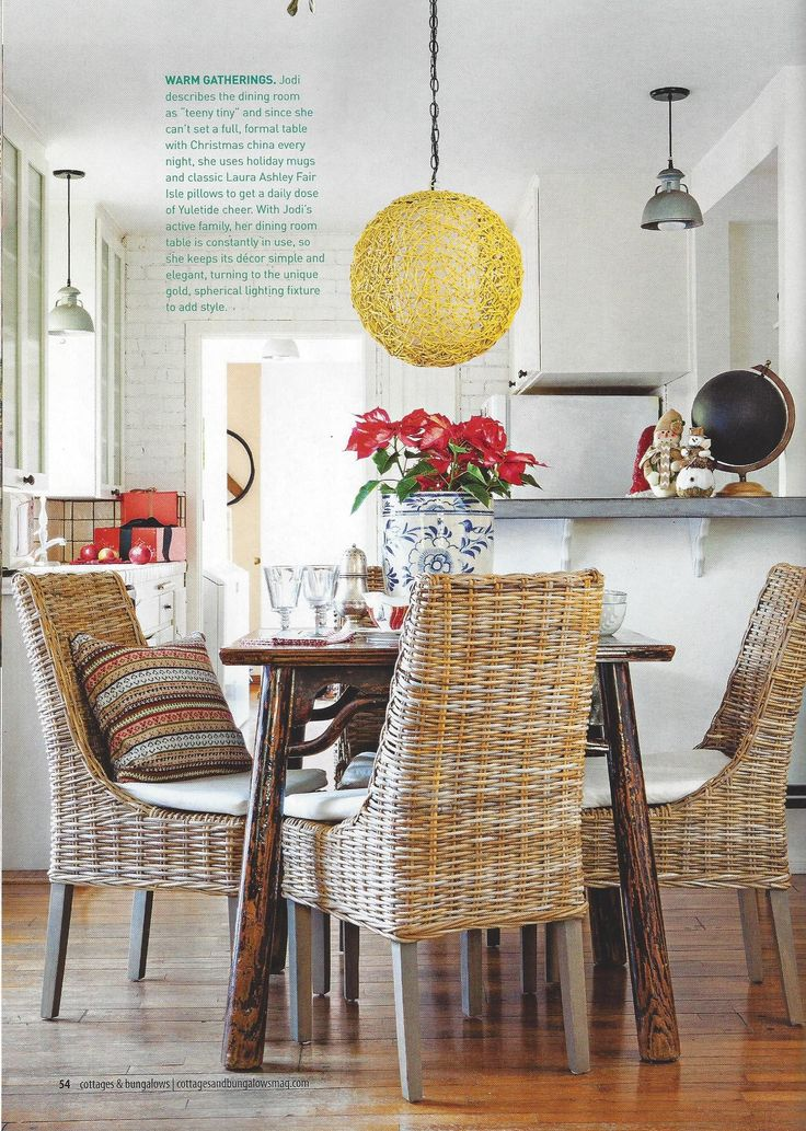 Cottages And Bungalows Featuring A Laura Ashley Cushion