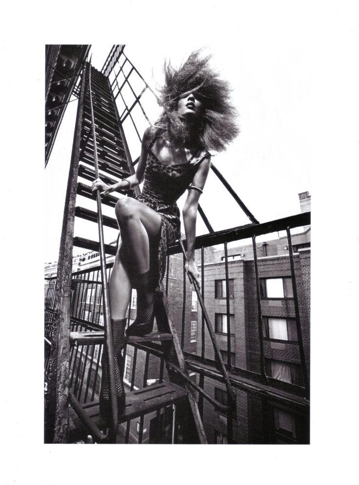 Liya Kebede, by Mario Sorrenti  #photography #fashion #hair
