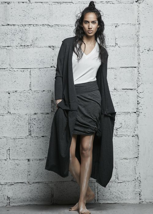 NÜ Denmark Luxury Pre-Spring Knit Top Shirt Skirt