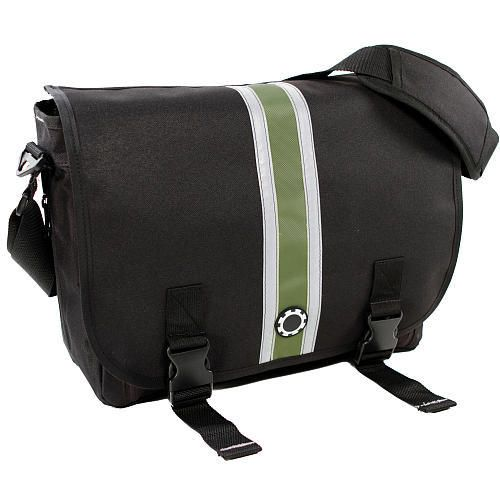 DadGear Center Stripe Messenger Diaper Bag from Dadgear - The Bump Baby Registry Catalog