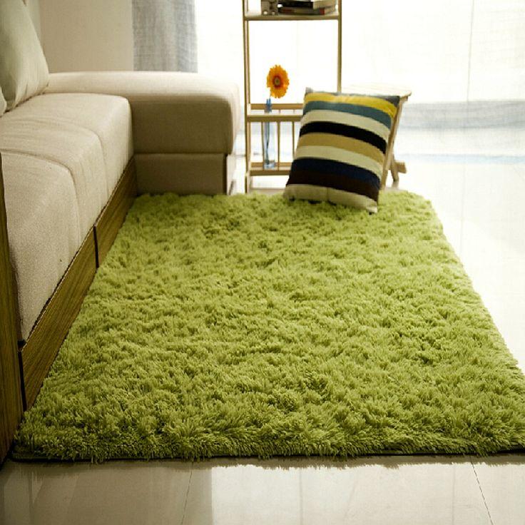Купить товар9 размер плюшевые лохматый гостиной ковры спальни дети играют…