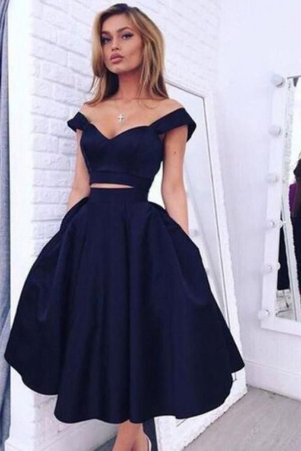 8387be9cbc2 Attractive Two Piece Homecoming Dress