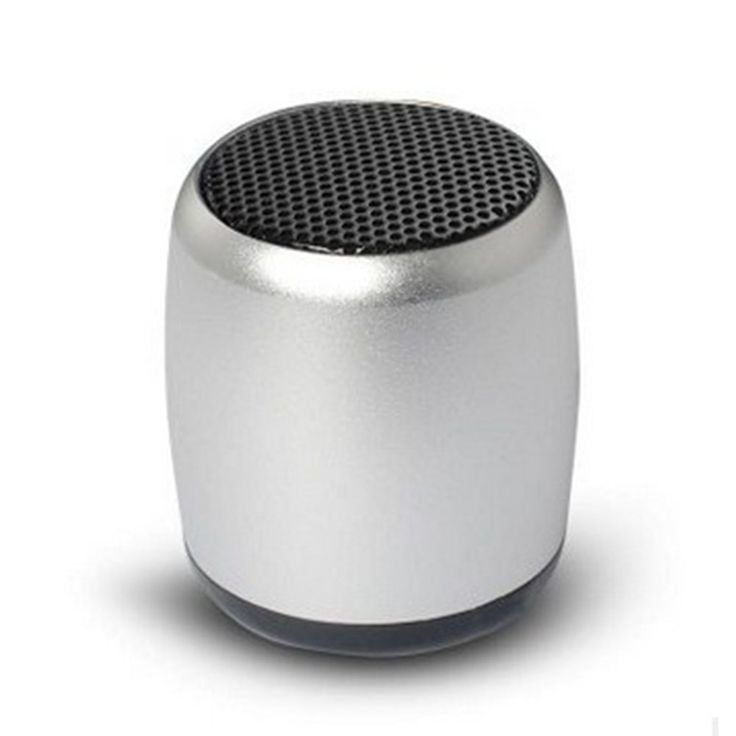 Tiger C Mini Subwoofer Portable Wireless Bluetooth Speaker for Outdoor Silver snd Grey. Size about 36.8x36.8x43mm,weight about 0.15 kg. It can be played about 6 hours on full charge. It's easy to carry out for outside activities. Small size but this mini speaker with great,clear and loud 3D sound. Bluetooth self-timer,hand-free call,voice prompts,FM radio,support TF card.