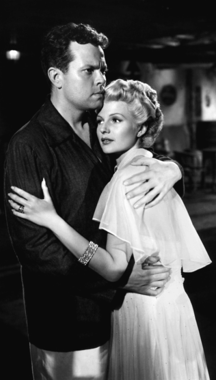 RITA HAYWORTH AND ORSON WELLES, THE LADY FROM SHANGHAI, THE HOKEY POKEY MAN AND AN INSANE HAWKER OF FISH BY CONNIE DURAND. AVAILABLE ON AMAZON KINDLE.
