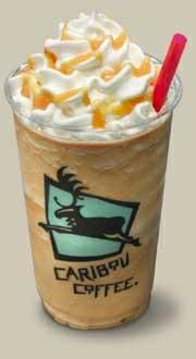 Caribou Coffee Caramel Cooler