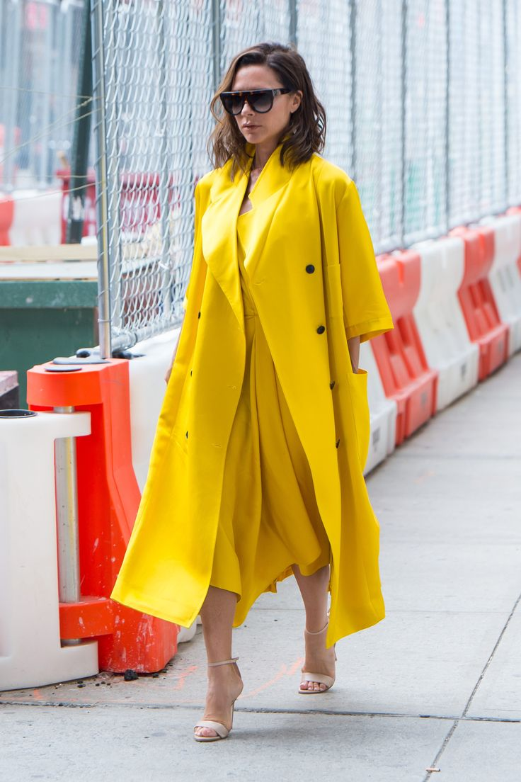 Victoria Beckham Wore This Surprising Trend Twice in 2 Days via @WhoWhatWearUK