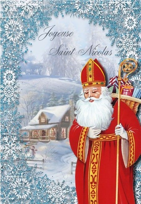 Connu 119 best CARTE ST NICOLAS images on Pinterest | Father christmas  XZ92