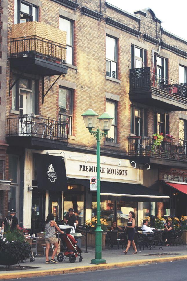 Montréal, Outremont, terrasse