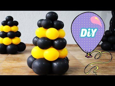 Como Fazer Cone de Balão - Cone de Rua -How to Make Balloon ConeStreet - YouTube