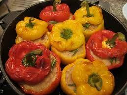 Alimentazione Sana & Cucina Naturale: Peperoni farciti alla pugliese