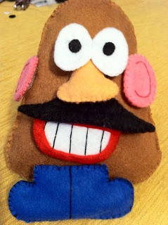 Señor Potato fieltro