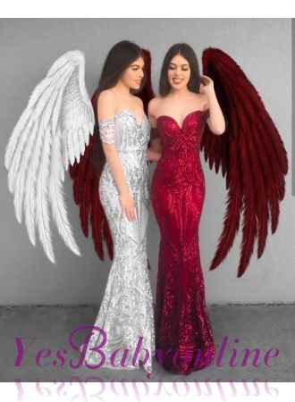 Prom Dress Wings