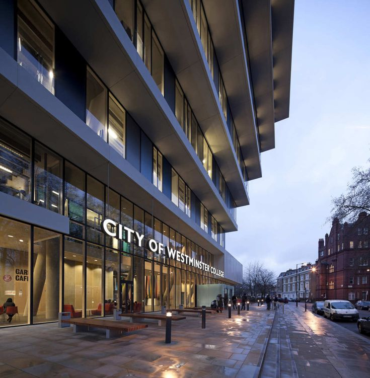 Gallery of New Flagship Campus for City of Westminster College / schmidt hammer lassen architects - 2