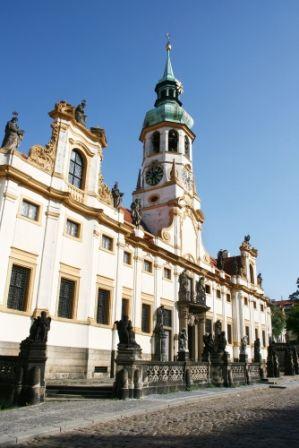 go2prague.com Loreta, Prague. Hear the glockenspiel bells every hour