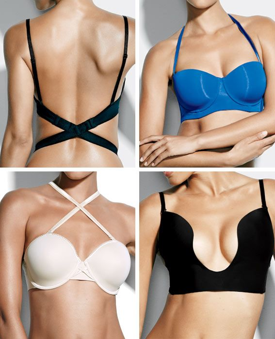 How to Break Bad Bra Habits - Pretending No One Sees That Clear Strap from #InStyle