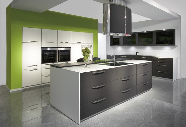 k che in anthrazit k cheninsel. Black Bedroom Furniture Sets. Home Design Ideas