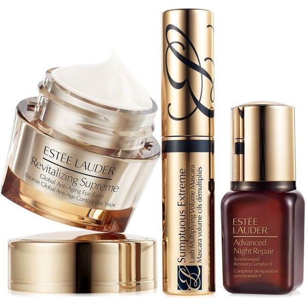 Estee Lauder Beautiful Eyes Global Anti-Aging Gift Set ($62) ❤ liked on Polyvore featuring beauty products, skincare, eye care, no color, estée lauder, black skin care, antiaging skin care, anti aging skincare and estee lauder skincare