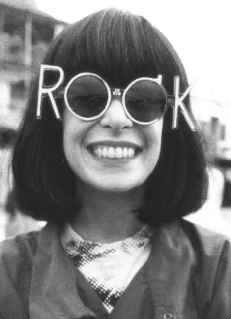 Rock n' roll sunglasses. Why do I not have these in my life.