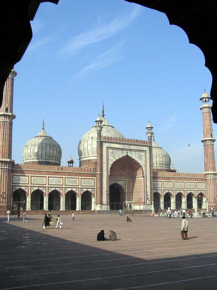 Fotografía: Juan José Cid - Jama Masjid, Delhi
