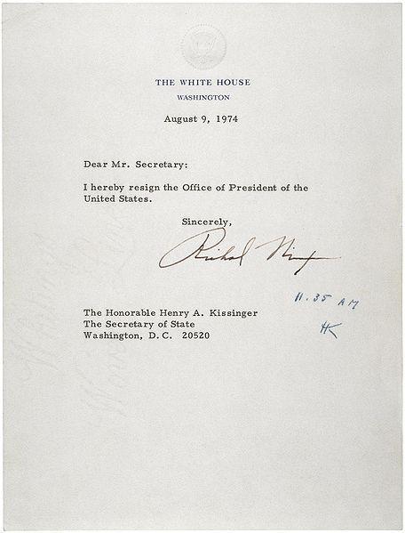 HistoryPresidents Richard, American History, Letters Of Resignation, Richard Nixon, Resignation Letters, Auguste 1974, Nixon Letters, 9Th Auguste, Nixon Resignation