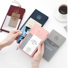 1x Cartoon Kraft Pages Paper Notebook Diary Writing Notepad Memo Pads Stationery