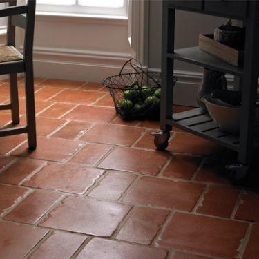 terracotta kitchen floor transitional - photo #16