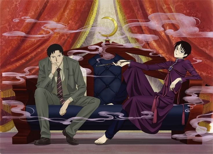 xxxHolic ~~ Even in their adult lives, these two remain inseparable. As long as Doumeki sees through the eye that he gave to Watanuki, their fate shall be intertwined.