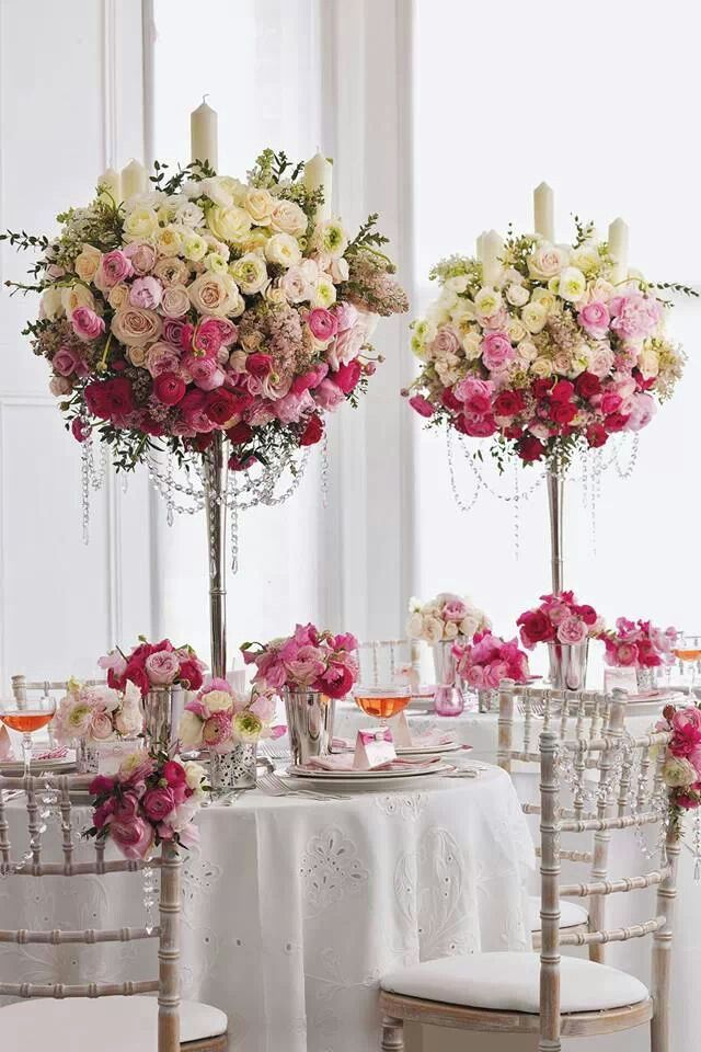 1000 ideas about rose centerpieces on pinterest red for Floral table decorations for weddings