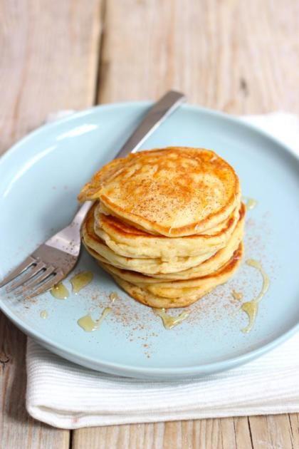 Recept voor pannekoekjes met Griekse yoghurt