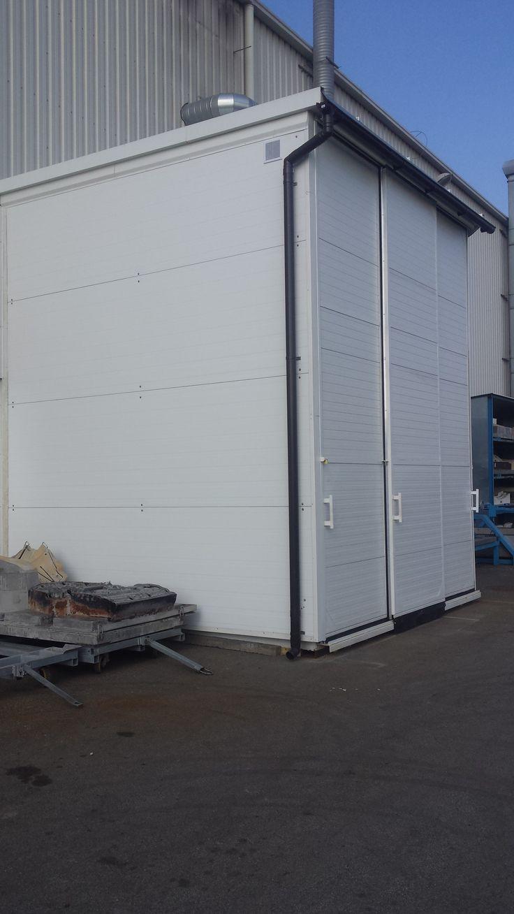 kontener 3-poziomowy do przechowywania pojemników ibc - IKAPOL