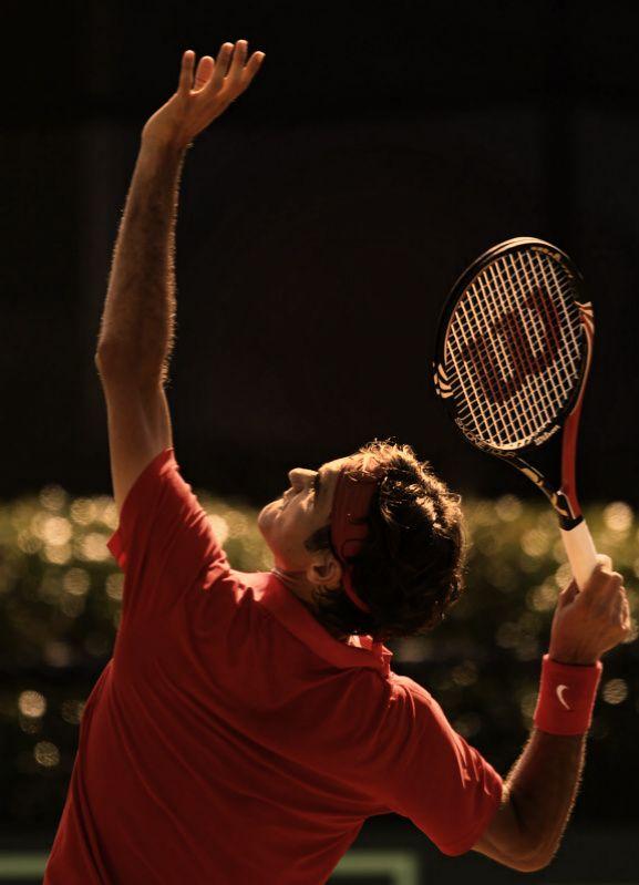Roger Federer (Switzerland) - 2011 Davis Cup World Group Playoff Tie Match, Royal Sydney Golf Club, Sydney, Australia