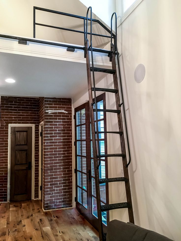 15 Best Images About Library Ladder Amp Loft On Pinterest