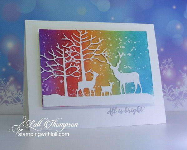 November Rudolph Days | Stamping with Loll | Bloglovin'