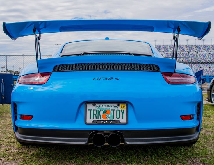 Mexico Blue GT3RS at the Rolex 24 this weekend #Porsche #porsche911 #porschelife #cayenne #cars #car