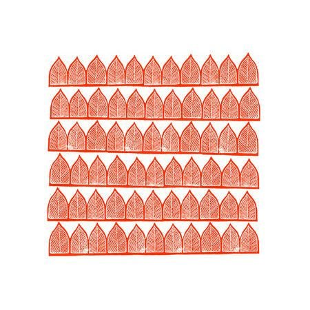 Block Printed Arches by Katharine Watson for Minted