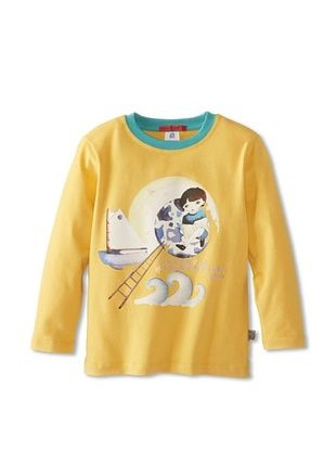 67% OFF Coney Island Baby Longsleeve Tee (Yellow)