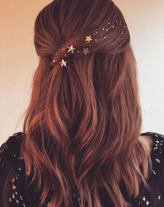 Les meilleures idées de coiffures pour les fêtes vues sur Pinterest