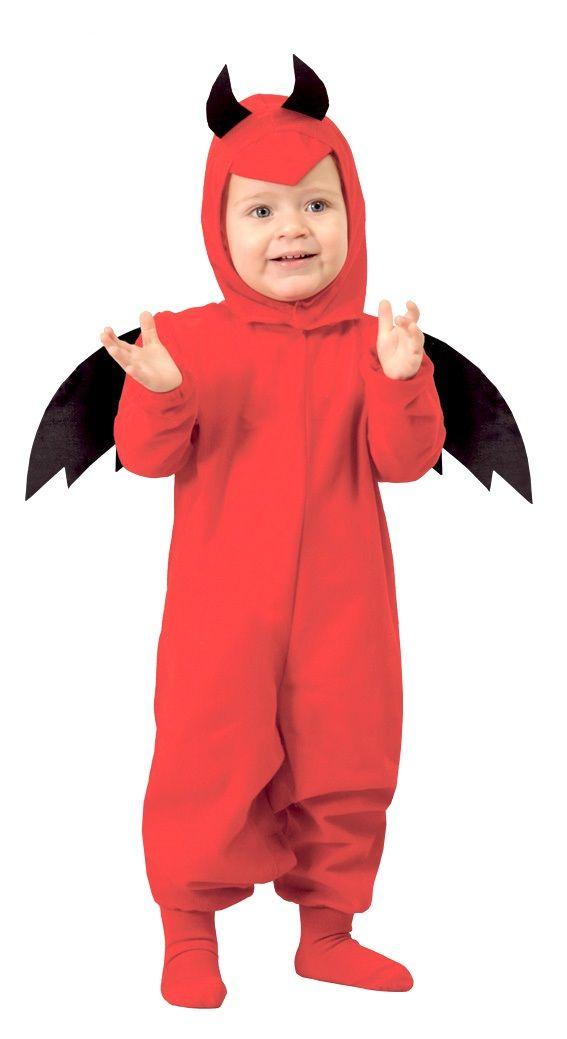 Disfraz de Diablo Bebe #halloween #disfraces