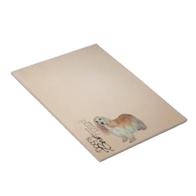 Cocker Spaniel Notepad $12.95