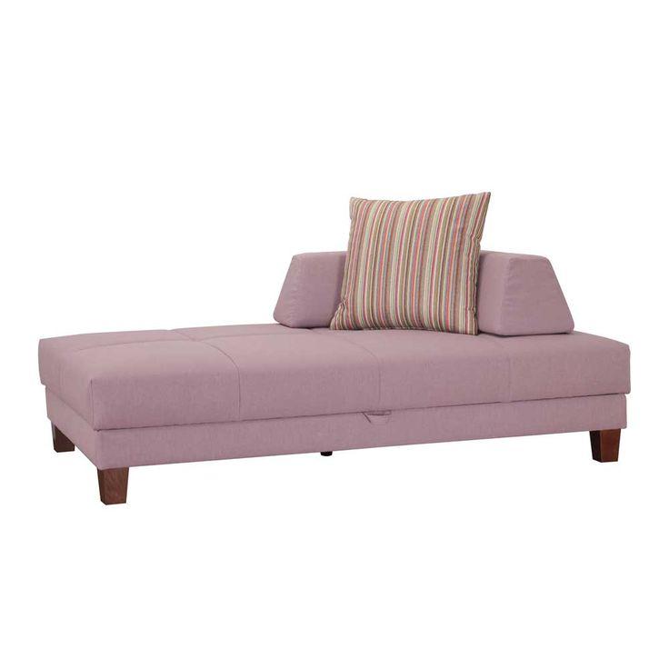 Fabulous Couch Recamiere in Rosa Bettkasten Jetzt bestellen unter https moebel ladendirekt de wohnzimmer sofas recamieren uid udef d cd bce