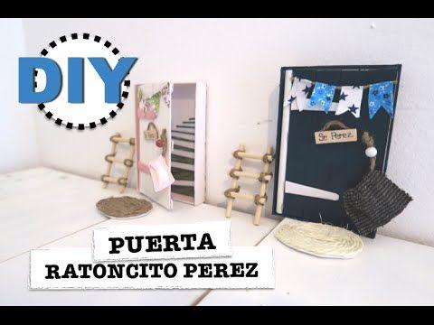 DIY | COMO HACER PUERTA RATONCITO PEREZ | DECORACION HABITACION INFANTIL...