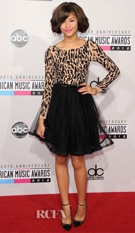 Zendaya Coleman In Alice + Olivia – 2012 American Music Awards