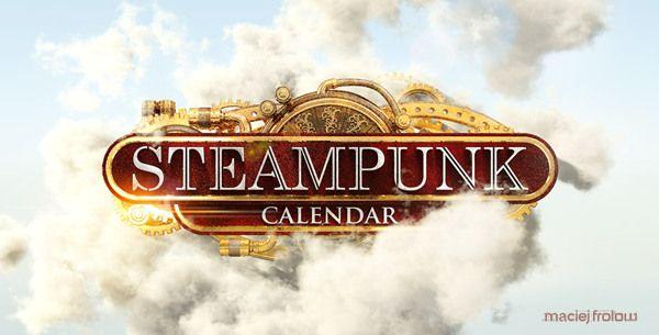 Steampunk Calendar Logo on Behance
