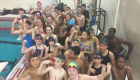 Swim & Dive Takes Part In 11th Annual Hour Of Power