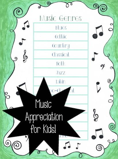 Music Genres List: Simple Music Appreciation for Kids